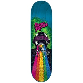 Creature Skateboard Deck - Leather Rainbow Reyes Multi 8