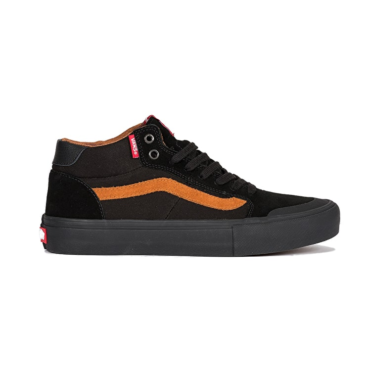 Vans Style 112 Pro Skate Shoes - (Dakota Roche) Black/Glazed Ginger