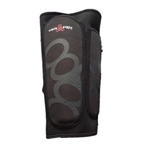 Triple 8 Exoskin Shin & Whip Guards - Black