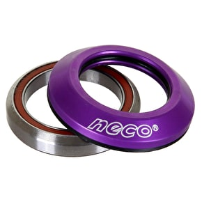 Neco Integrated Scooter Headset - Purple