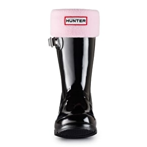 Hunter Kids Wellington Boots Socks - Pink
