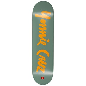 Chocolate Cruz Chunk Name Skateboard Deck - 8