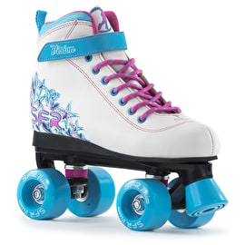 B-Stock SFR Vision II Roller Skates - White/Blue J12 (Box Damage)