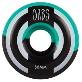 Welcome Apparitions - Round - Splits Skateboard Wheels 56mm - Teal/Black