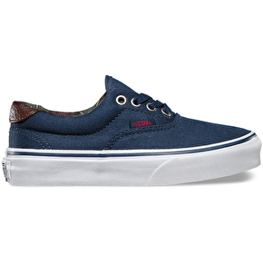 Vans Era 59 Kids Shoes - (Plaid) Dress Blues