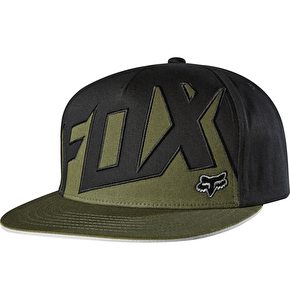 Fox Projector Snapback Cap - Army (One Size)