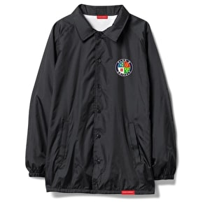 Grizzly Seal Of Approval Coaches Jacket - Black
