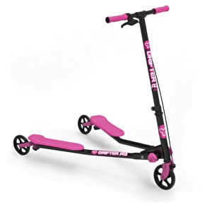 Y-Volution Y-Drifter A3 Air Complete Scooter - Black/Pink