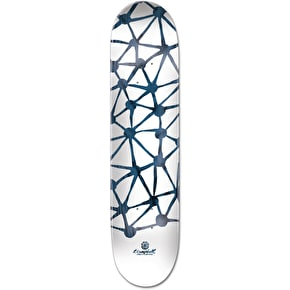 Element x T. Campbell Indigo Everything Shaped Skateboard Deck - 7.75