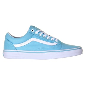 Vans Old Skool Skate Shoes - Crystal Blue/True White