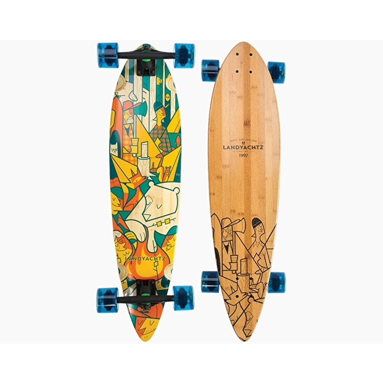 Landyachtz Bamboo Chief Camping Complete Longboard - 36""