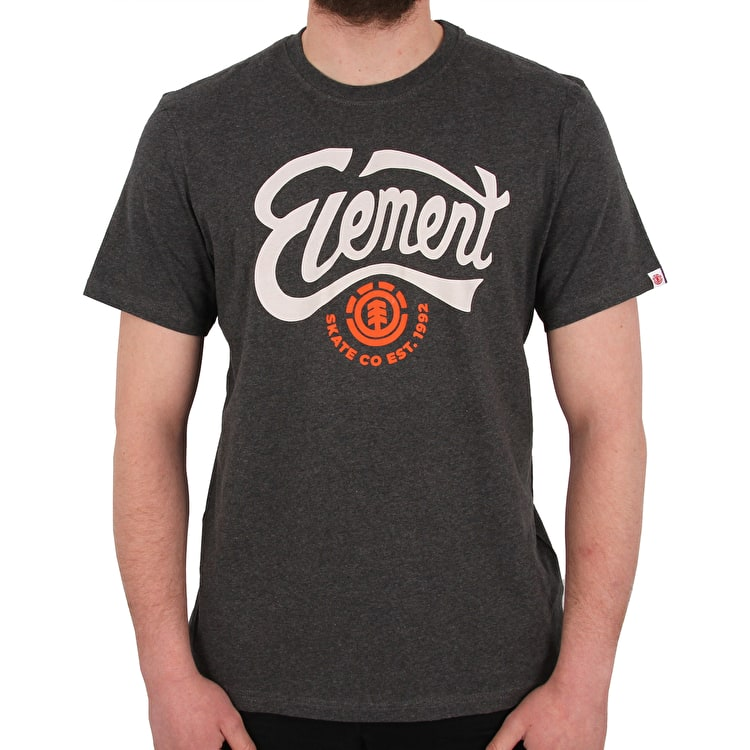 Element Bump T shirt - Charcoal Heather