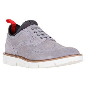 WeSC Muchalls Brogue Shoes - Grey