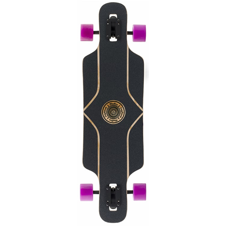 "Mindless Raven II 34"" Longboard - Natural/Red"