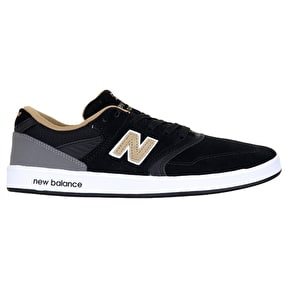 New Balance 598 Skate Shoes - Black/Gold
