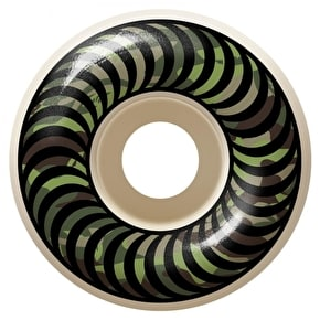 Spitfire Camo Classics 99D Skateboard Wheels - White 53mm