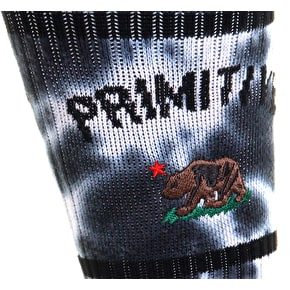 Primitive Cultivated Tie Dye Socks - Black