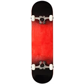 Rocket Skateboards Twin Fade Series Complete Skateboard - Red/Black 8