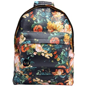 Mi-Pac Backpack - Bloom Black/Orange