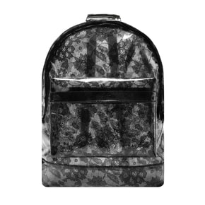 Mi-Pac Transparent Lace Backpack - Black