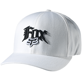 Fox Next Century Flexfit Hat White - Extra Small/Small (B-Stock)
