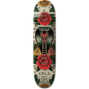 Plan B Tradition Mini Skateboard Deck - Cole 7.75