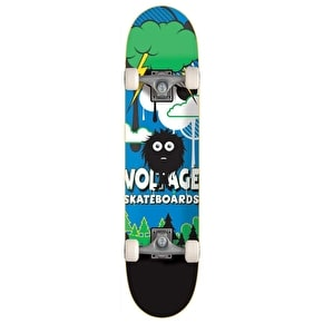 Voltage Little Monsta Complete Mini Skateboard - Hairy