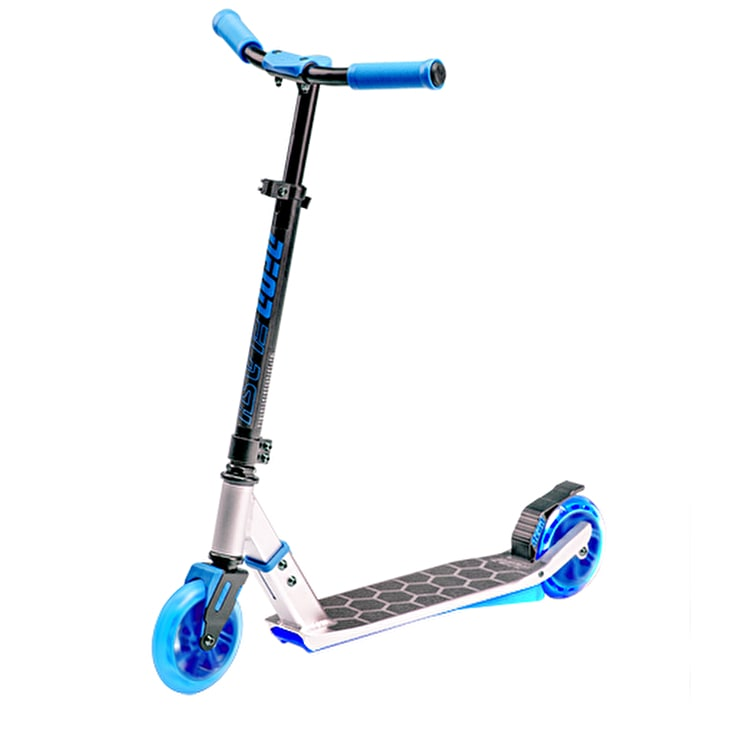 Neon Flash Light Up Complete Scooter - Blue