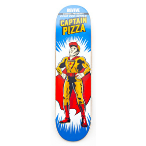 ReVive Des Autels Captain Pizza Skateboard Deck