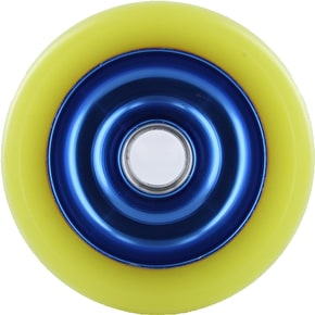 Eagle Blue core Yellow Pu Metal Core wheel - 100mm