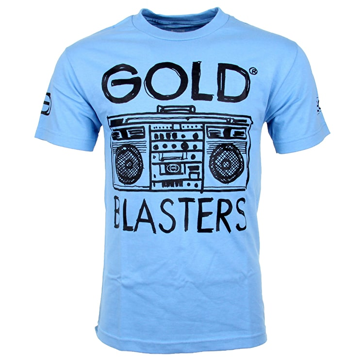 Gold Blaster T-Shirt - Carolina Blue