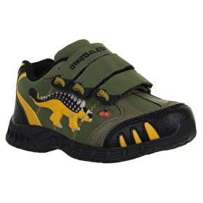 Dinosoles Dinofit Kids Shoes - Ankylosaurus Green