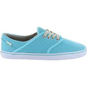 Etnies Caprice Eco Skate Shoes - Blue/White
