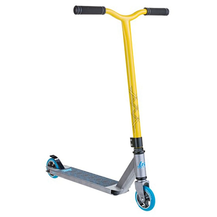 Grit Stunt Scooter - Extremist 2016 Silver/Yellow