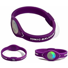 Team Ionic Band Purple and White