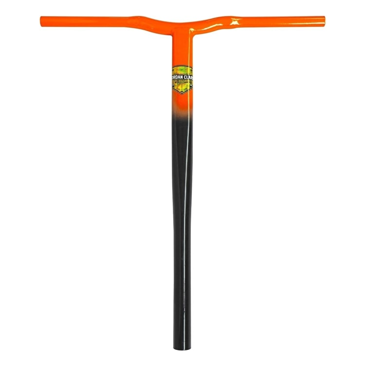 Grit Jordan Clark Signature V2 SCS Scooter Handle Bars - Black/Orange