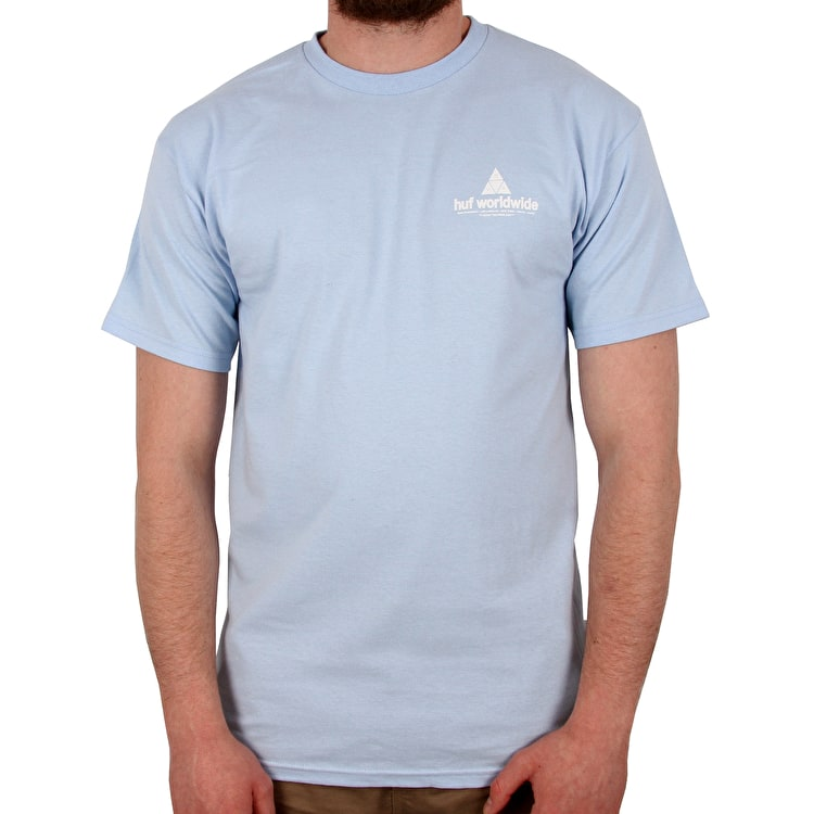 Huf Peak T shirt - Light Blue