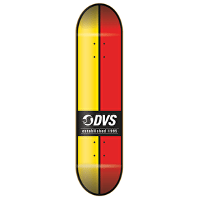 DVS Skateboard Deck - Ace - Yellow/Red - 8.0