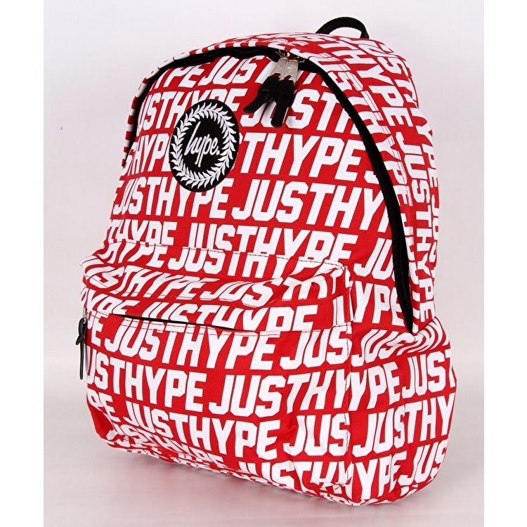 Hype JH Sports Backpack - Red/White