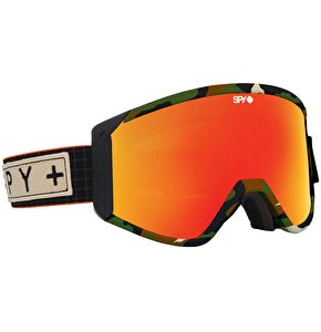 Spy Raider Darrell Mathes Goggles - Bronze/Red Spectra