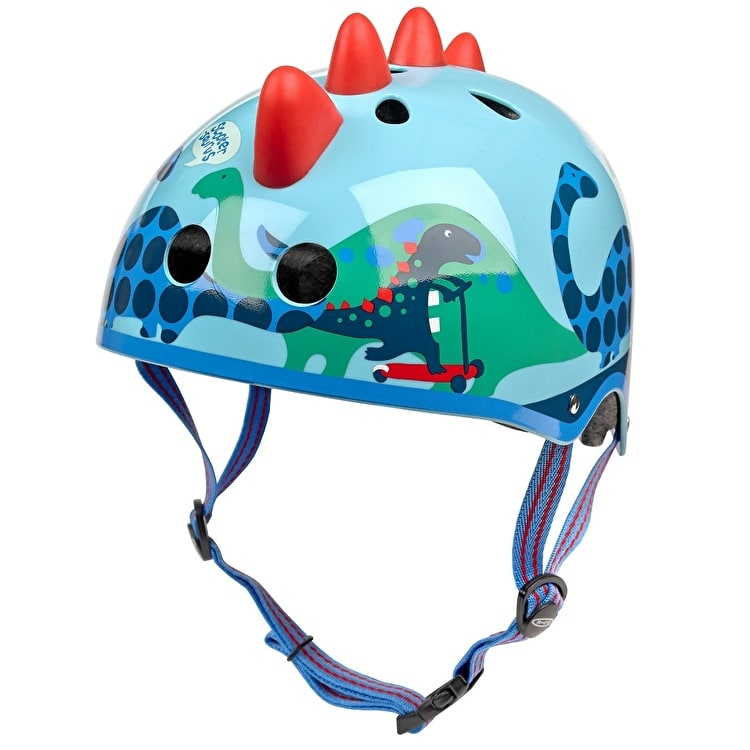Micro Safety Helmet - 3D Scootersaurus