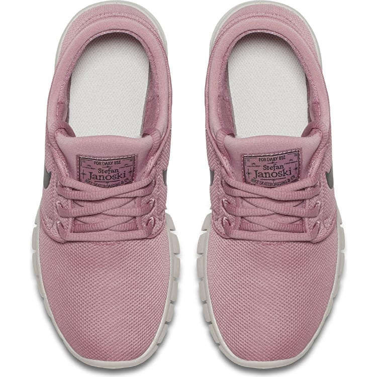Nike SB Stefan Janoski Max Kids Skate Shoes - Elemental Pink/Black