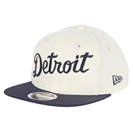 New Era MLB The Lounge Cap - Detroit Tigers - Off White/Navy