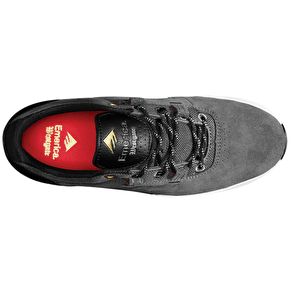 Emerica Westgate Skate Shoes - Dark Grey/Black