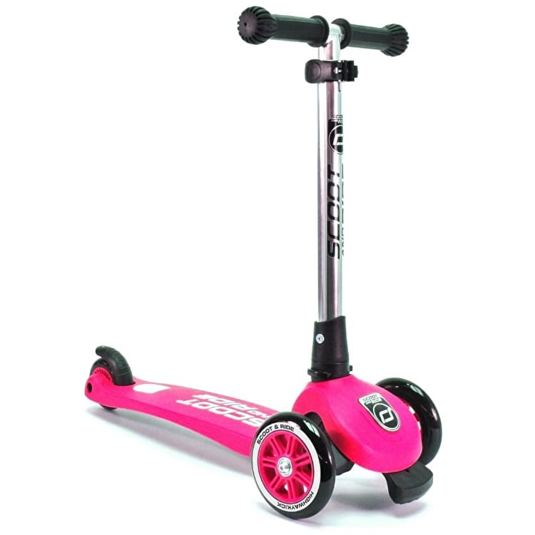 Scoot And Ride Highwaykick 3 Complete Scooter - Pink