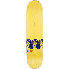 Almost Wonder Woman Fade Skateboard Deck - Haslam 7.75''
