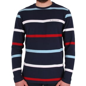 Diamond Supply Co Paradise Striped Crewneck - Navy