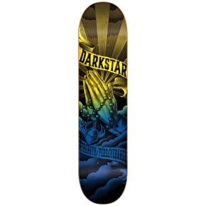 Darkstar Salvation Skateboard Deck - Blue/Yellow 8.125