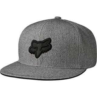 Fox Copius Snapback Cap - Heather Grey