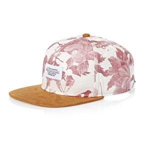 WeSC Sarek Hawaii Strapback Cap - Winter White